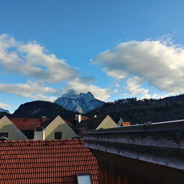I can totally live with that view ;-) #traveling #fuessen #germany #2019