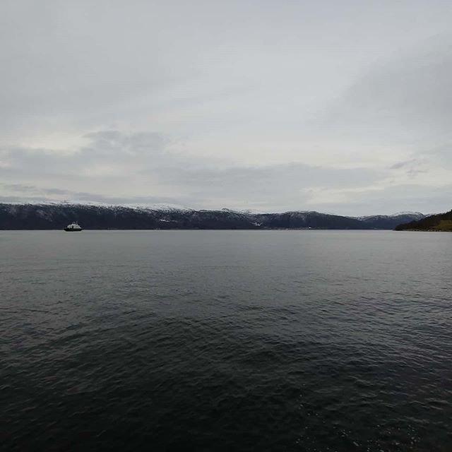 Getting ready to cross the Sognealfjorden #sognefjorden #norway #february #2020