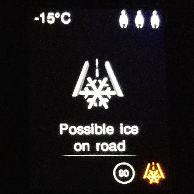 Possibly ice at -15°C? No way  #sweden #fromnorway #february #2020