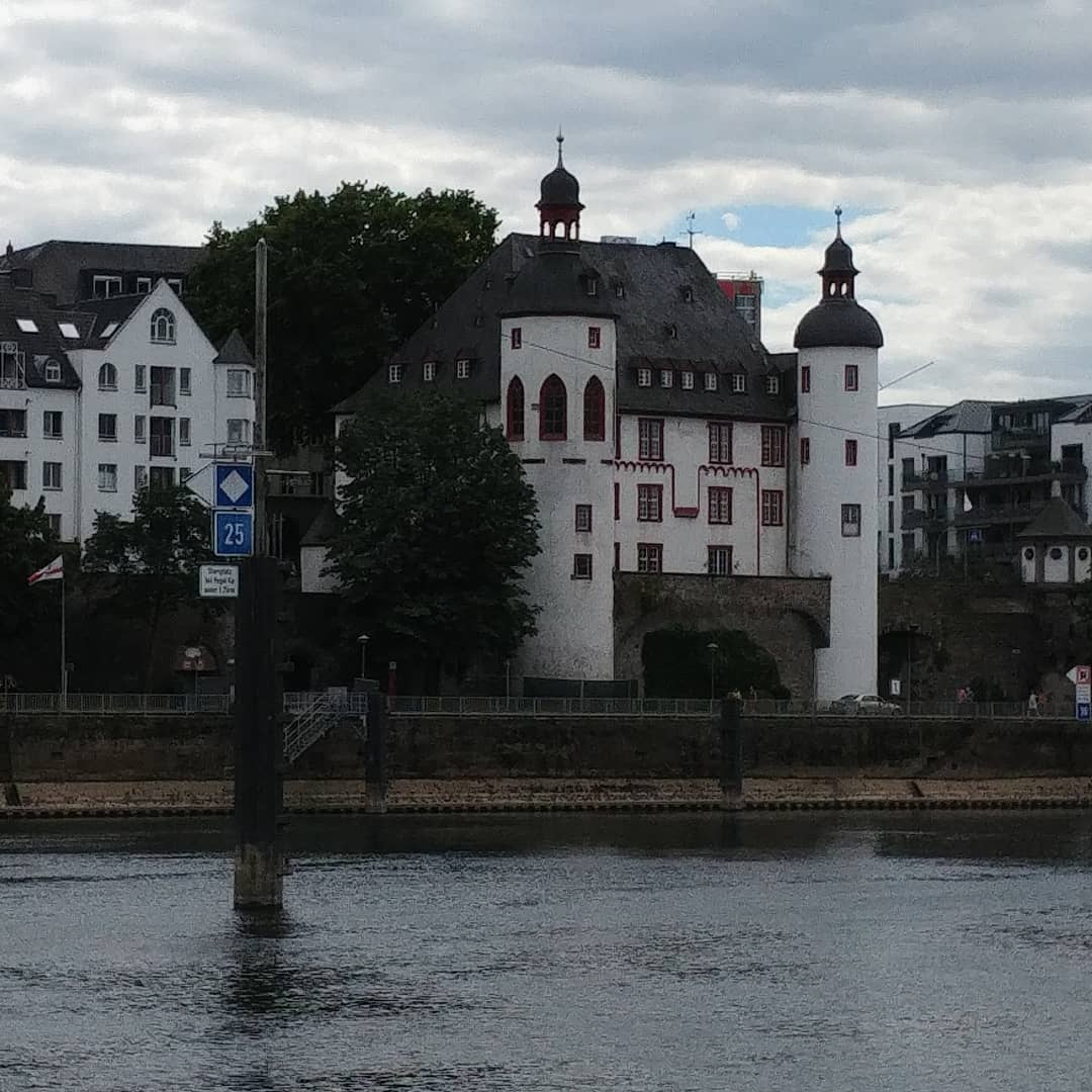 Old water fortress #mosel #koblenz #germany #2020